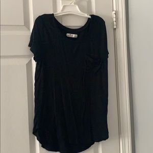 Small black t-shirt from hollister